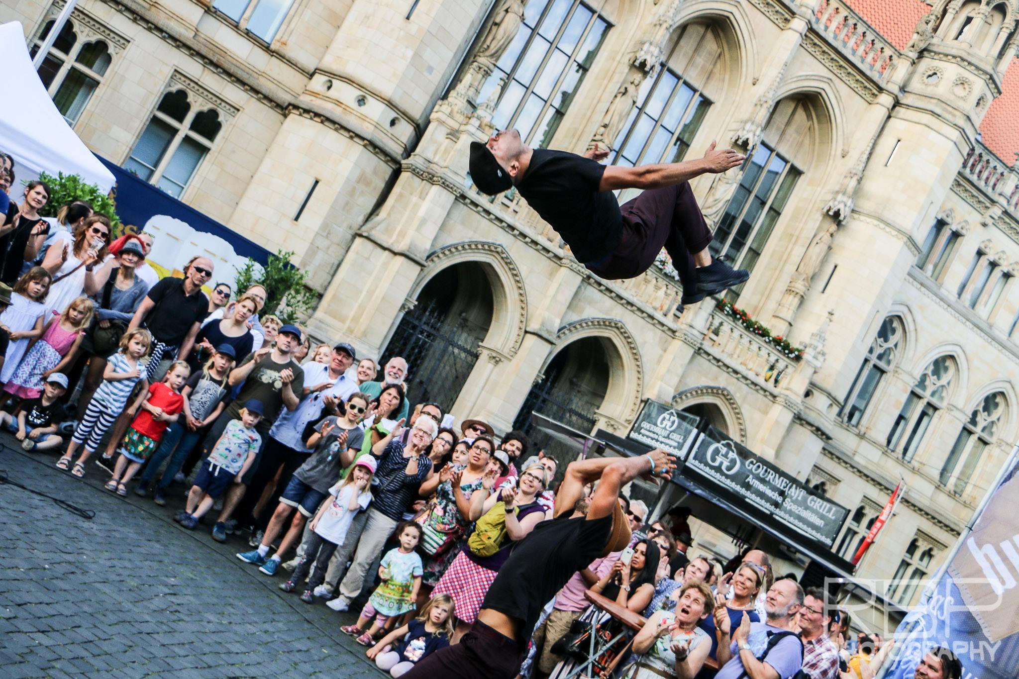 Spectacle de rue Breakdance en allemagne